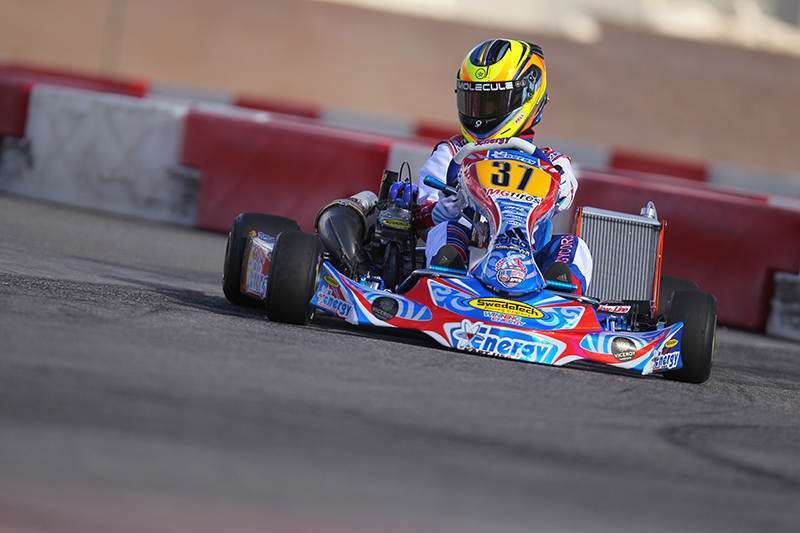 COOK SHOWS SPEED ABOARD NEW ENERGY CHASSIS AND NOW TRAVELS TO RMCGF IN PORTUGAL